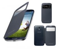S-View Cover con ventana para  Samsung Galaxy S4.