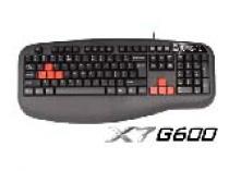 Teclado A4Tech 3X Fast X7 G600